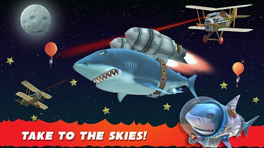 Hungry Shark Evolution MOD 5.9.2 (Unlimited Coins/Gems) Apk 5