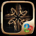 Classic Gold Go Launcher Theme Icon
