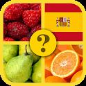 1 Foto 1 Palabra : Frutas Quiz icon