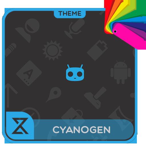 Theme XPERIEN™- Cyanogen Blue
