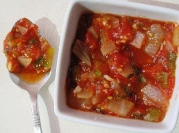 Thick & Chunky Salsa Recipe