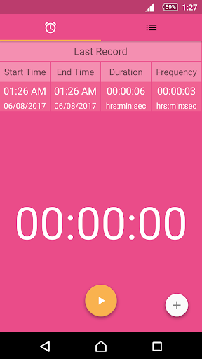 Contraction Timer for Labor Screenshot