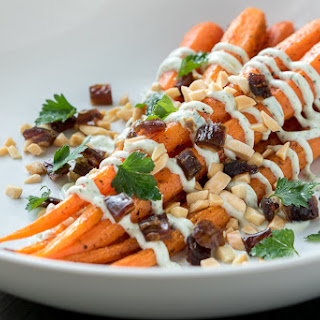 Roast Carrots with North African Flavors Recipe