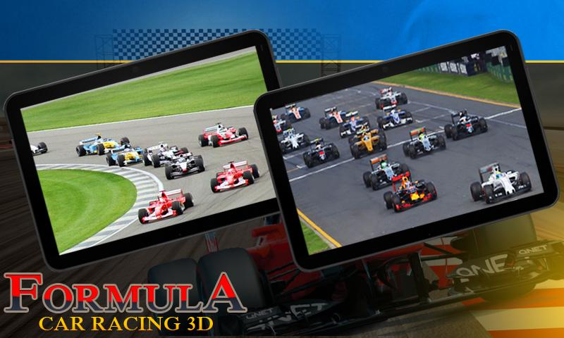 Скриншот Formula Car Racing 3D