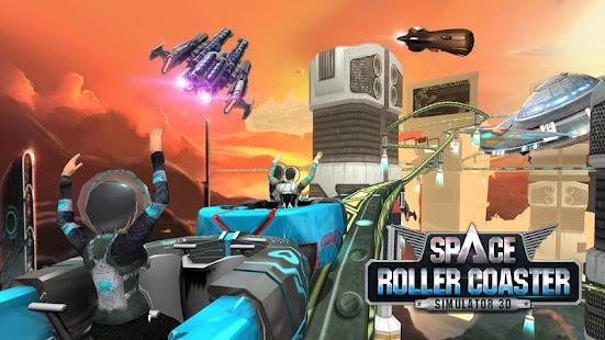 Roller Coaster Sim Espaço screenshot