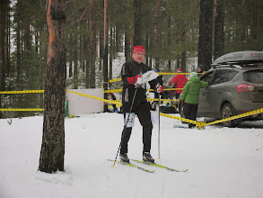 Photo: Андрей Борисов после 1 этапа