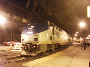 Photo: The Capitol Limited which would take us to Cleveland.