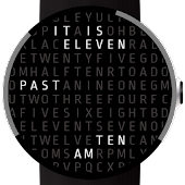 Time In Words Watch Face