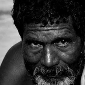 strength by Sudhindu bikash Mandal - People Portraits of Men
