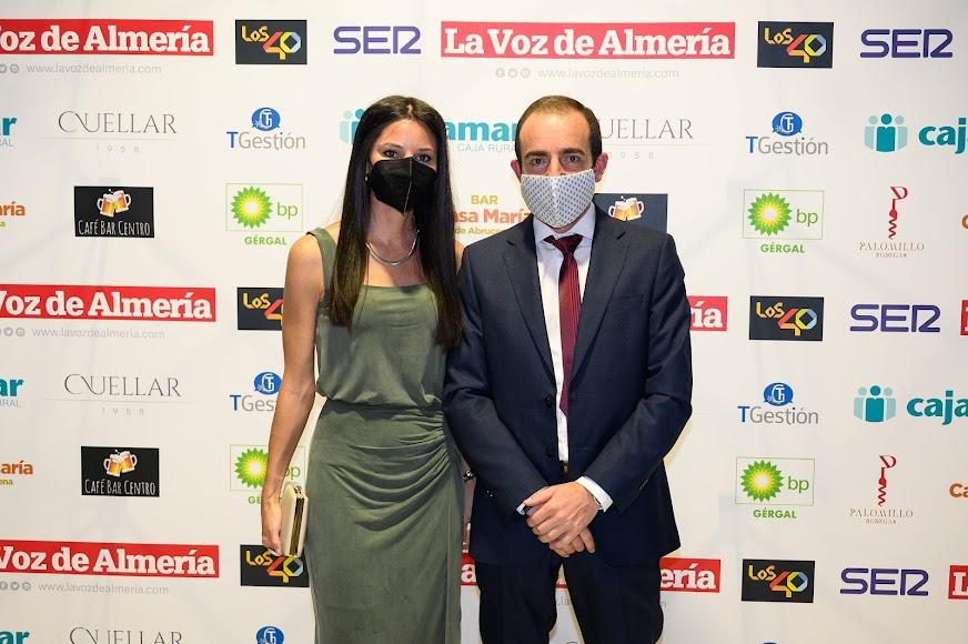 Elena Ávalos y José María Ávalos de Muebles Ávalos.