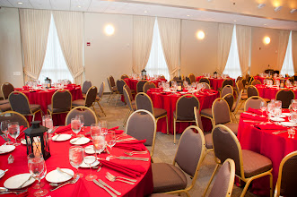 Photo: The Independence Ballroom at the Independence Visitors Center all dressed up for the 2011 Champions Dinner.
