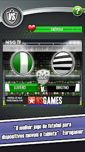 New Star Futebol Screenshot