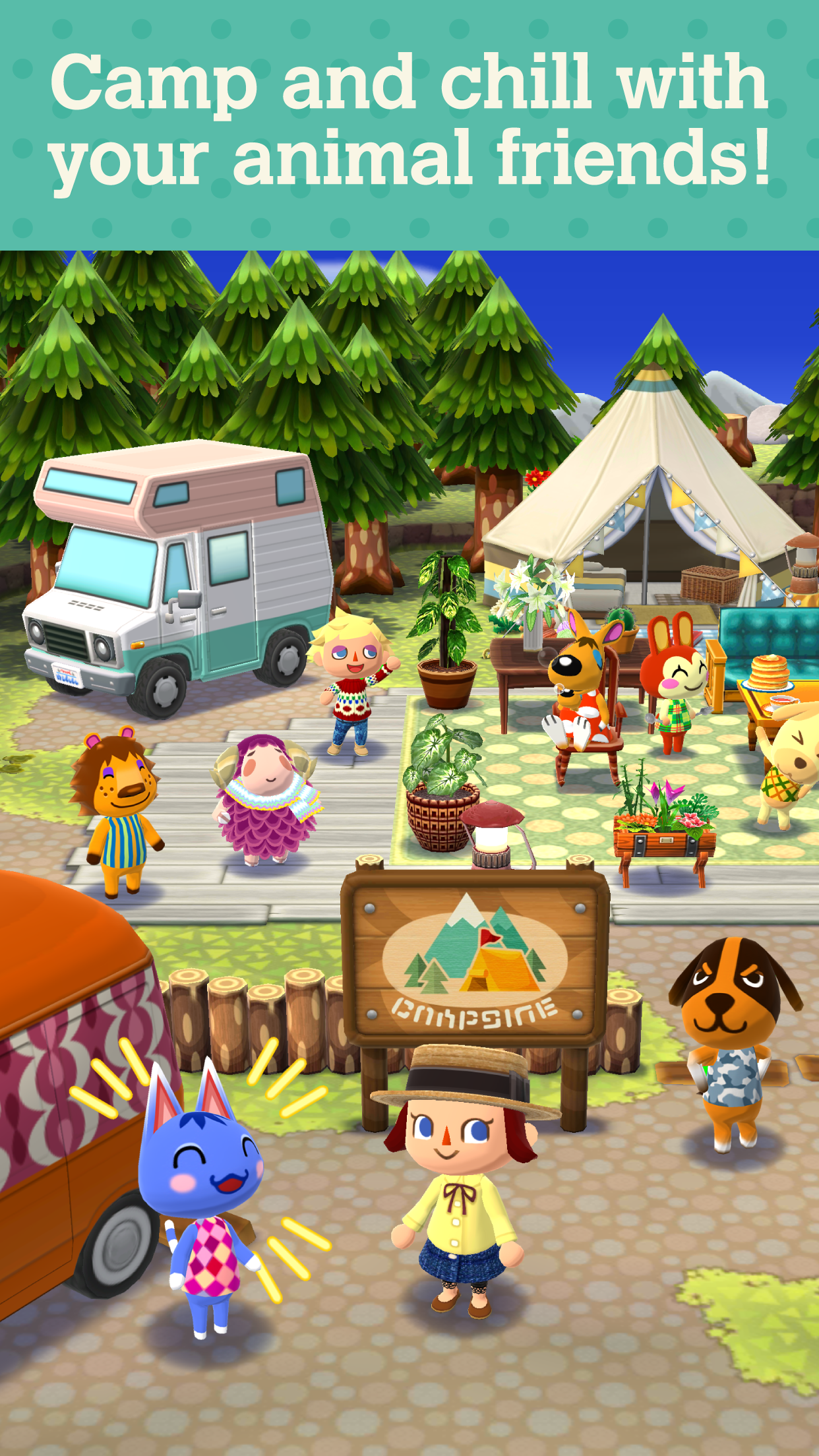 Animal Crossing: Pocket Camp screenshot #2