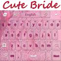 Cute Bride Keyboard icon