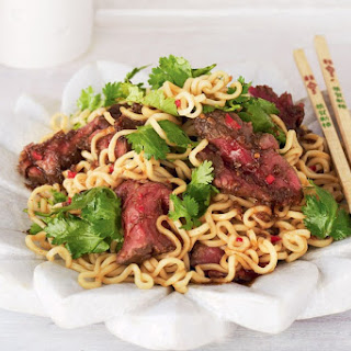 Sweet Soy Beef With Noodles