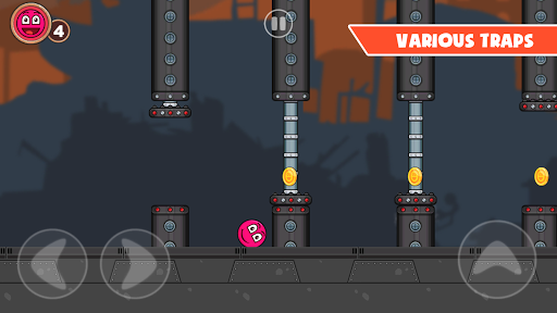 Roller Ball 3: Red Bounce Ball Love Adventure 2.3 screenshots 2
