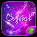 Crystal GO Keyboard Theme icon