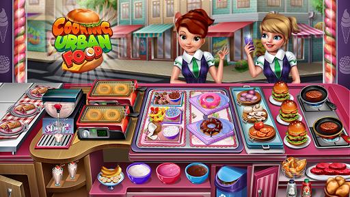 Cooking Urban Food - Fast Restaurant Games apkmr screenshots 8
