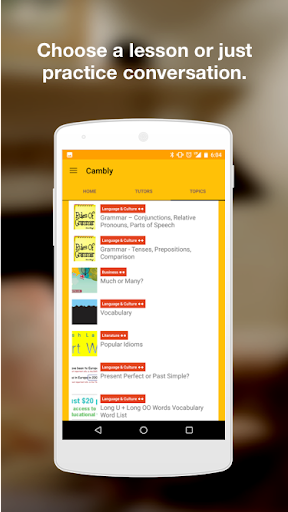 Cambly - English Teacher 2.16.3 screenshots 9