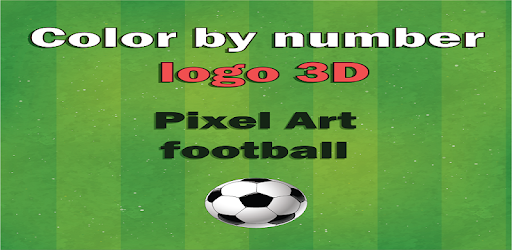 Pixel football logos : Sandbox color by numbers for PC