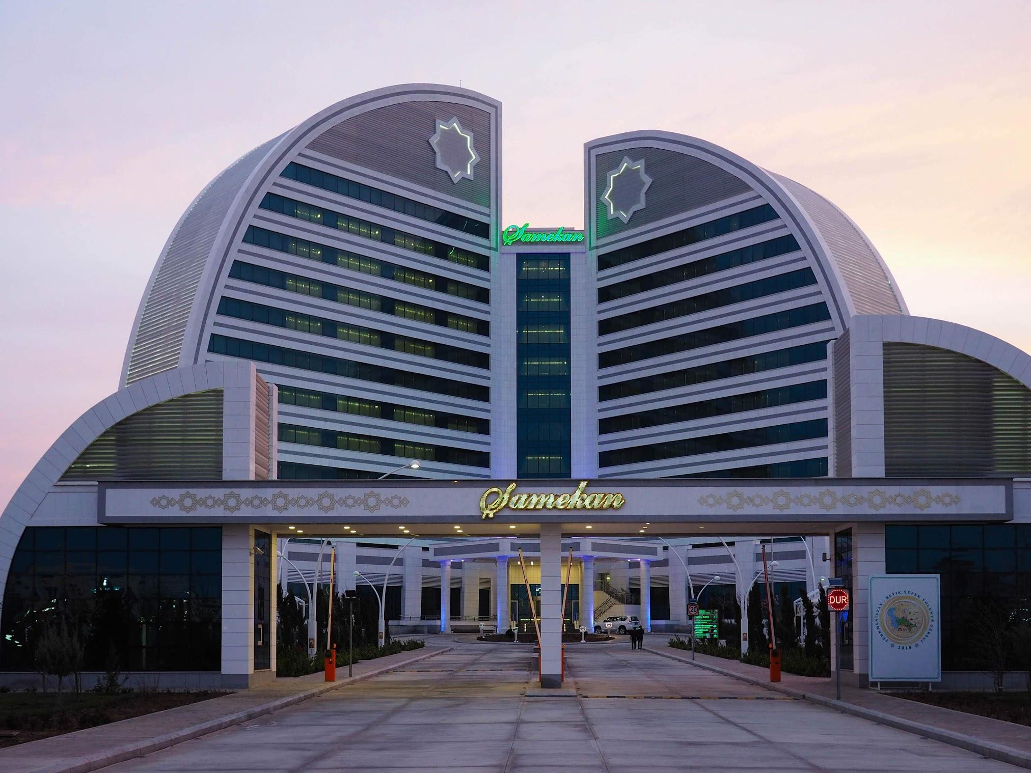 A grand hotel in Awaza