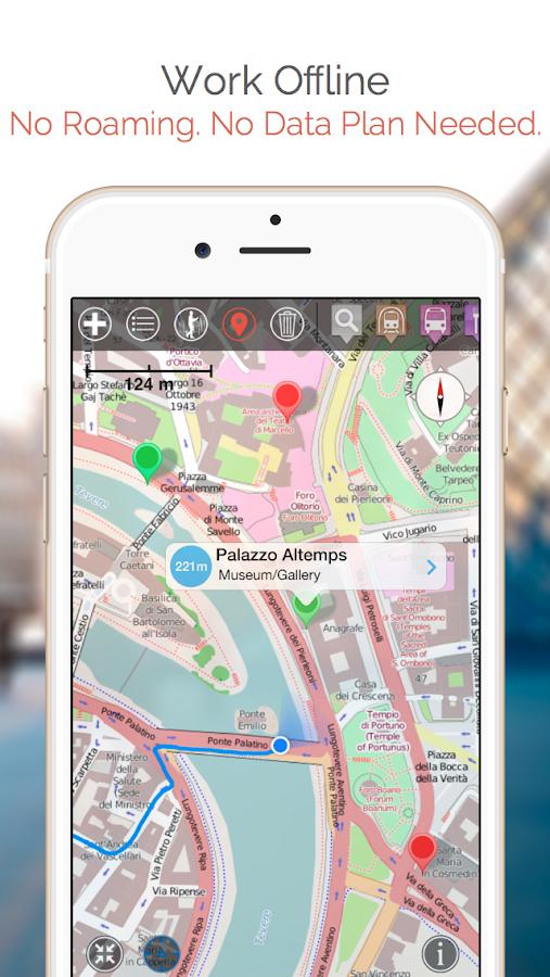 Louisville Map and Walks - screenshot