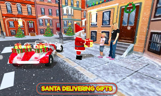 Santa Claus Stunt Car Christmas Gift Delivery for PC-Windows 7,8,10 and Mac apk screenshot 12