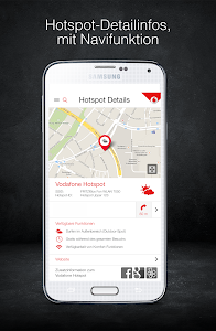 Vodafone Hotspotfinder screenshot 1