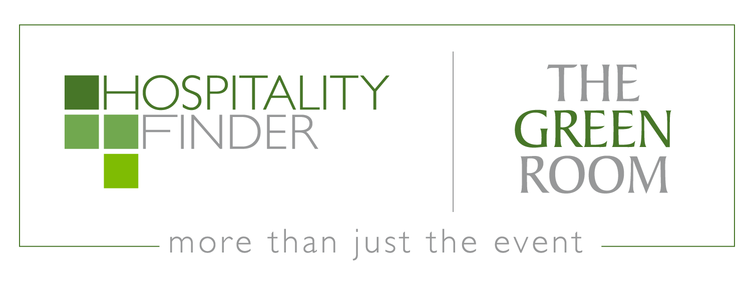 Hospitality Finder x The Green Room Logo