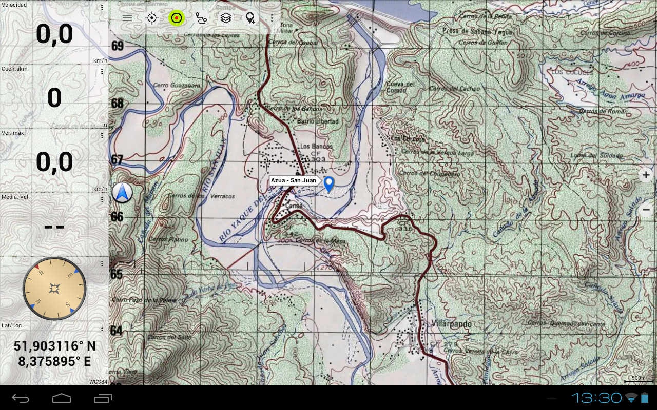 hispaniola topo maps pro screenshot. hispaniola topo maps pro  android apps on google play
