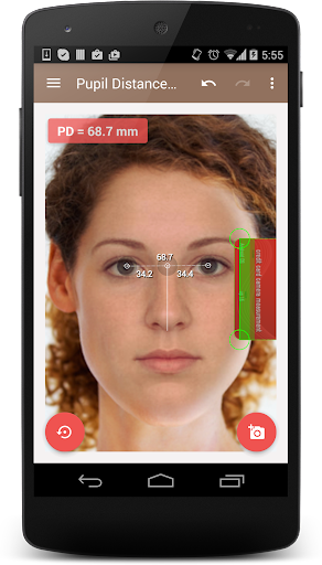 Pupillary Distance Meter | PD Camera Measure screenshot