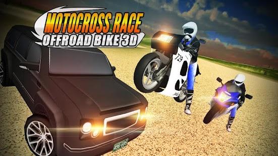 Motocross Race Offroad Bike 3D - náhled