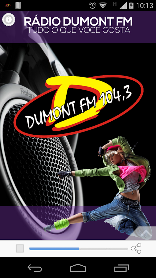 Rádio Dumont FM- screenshot