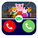 Free Fake From Call Piggy Prank Roblx Simulation icon