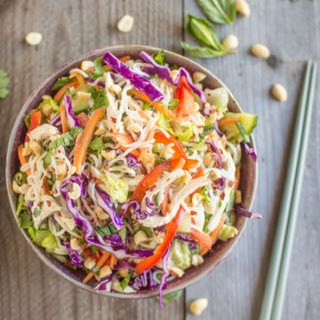 Chicken and Tofu Shirataki Vietnamese Salad