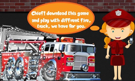 Fire Rescue : Kids fire fighting simulation game - náhled