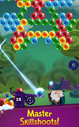 Bubble Shooter: Bubble Wizard, match 3 bubble game apkmr screenshots 1