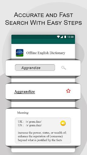 Offline English Dictionary  screenshots 4