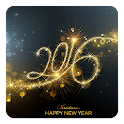 New Year 2016 LWP icon