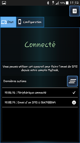 android MyDesk Device Screenshot 0