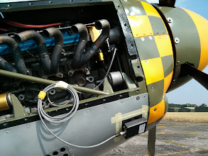 Photo: PB-3 attached to a Titan Mustang