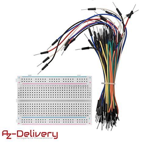 Risultato immagini per breadboard with cables