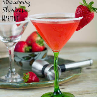 Strawberry Shortcake Martini.