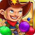Wild West Cowgirl Bubbleshooter - Sheriff special apk