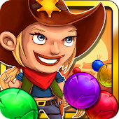 Wild West Cowgirl Bubbleshooter - Sheriff special