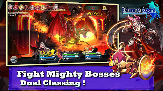 Download Return to Asgard (Fantasy RPG) For PC Windows and Mac apk screenshot 4
