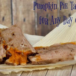 Pumpkin Pie Tamales