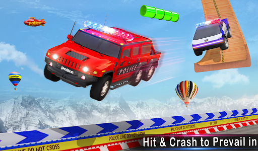 Police Ramp Car Stunts GT Racing Car Stunts Game 1.3.0 screenshots 20