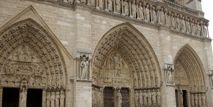Photo: Doors of Notre Dame, Paris, France