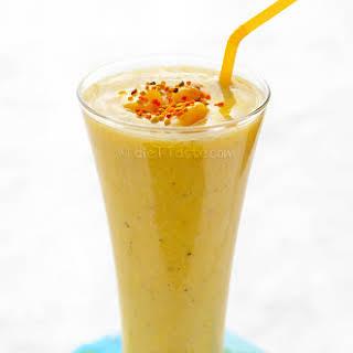 Amazing Mango Smoothie.